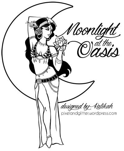 Moonlight at the Oasis by Kalikah Jade