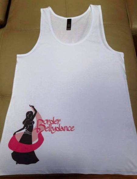 Border Bellydance Tank top design