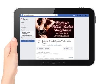 Bek Kelly Campaign - Facebook mockup