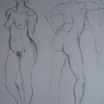 Life Drawing figure, 2008