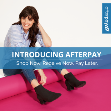 Afterpay website homepage tile