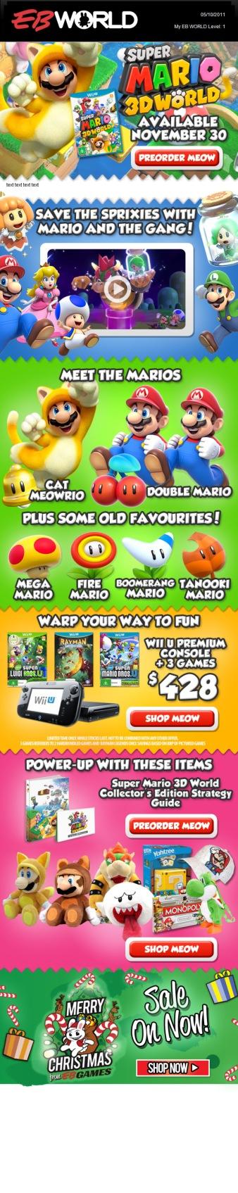 Mario Launch edm