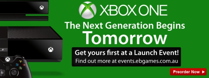 Xbox One Campaign Launch - homepage banner