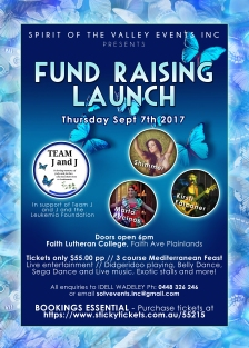 Fundraising Launch Poster