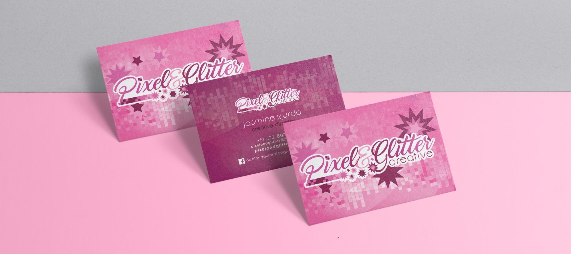 Logo Design - Pixel&Glitter Creative