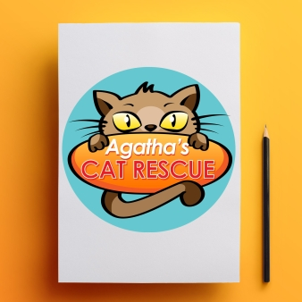 Logo Design - Agatha's Cat Rescue